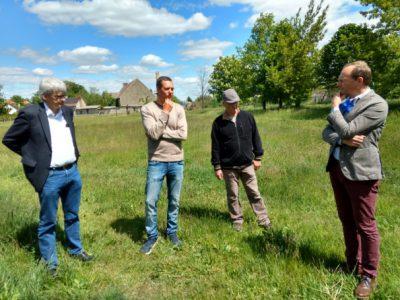 Trockenheit in der Nordsächsischen Heidelandschaft – Minister Günther besucht betroffene Gebiete